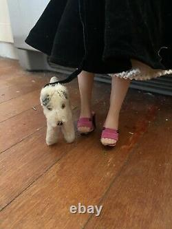 VHTF Vintage Cissy Walks her Dog Madame Alexander