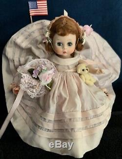 VINT MADAME ALEXANDER BRIDESMAID 1956 #7 WithBOX EXCELLENT CONDITION TAGGED