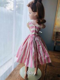 VINTAGE 1950s Madame Alexander CISSY DOLL strawberry blonde 20 original clothes