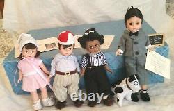 VINTAGE FAO Schwarts Madame Alexander 1996 Little Rascals Doll Set In Box