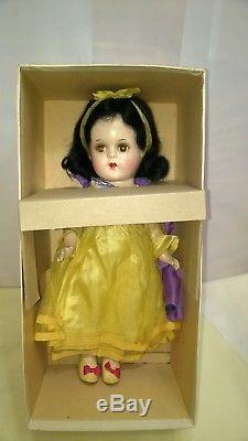 VINTAGE MADAME ALEXANDER COMPOSITION SNOW WHITE DOLL A/O With BOX RARE $333.33