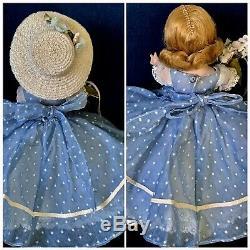 VINTAGE MADAME ALEXANDER-kINS 1953 SLNW TRIPLE STITCHED HAIR EXCELLENT CON