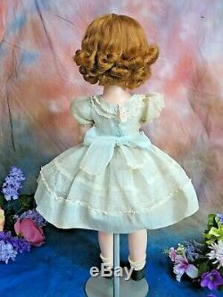 VINTAGE Madame Alexander DOLL Winnie BINNIE WALKER 24 Cissy face TAGGED DRESS