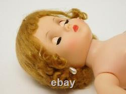 VNTG 1950s Madame Alexander 16 Elise Doll Dk Blonde Flip Wig