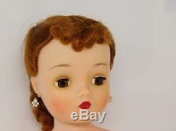 VNTG RARE BROWN EYED 1959 Madame Alexander Cissy doll Auburn Red Fancy Hair
