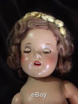 Vintage 1937-1941 Madame Alexander Composition PRINCESS ELIZABETH 19