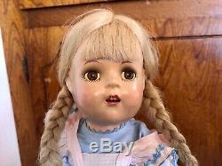 Vintage 1937 MADAME ALEXANDER 16 Princess Elizabeth Original MCGUFFEY ANA Doll