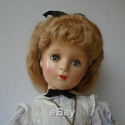 Vintage 1940s 21 Composition Alexander Dressed Alice in Wonderland Doll Beauty