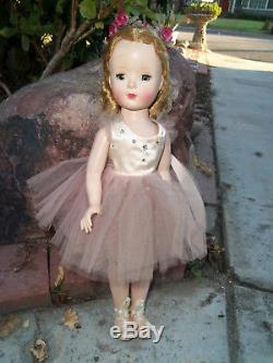 Vintage 1949, Madame Alexander, Nina Ballerina Doll