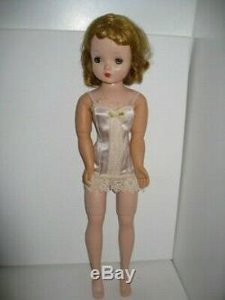 Vintage 1950's Madame Alexander 20 Blonde Cissy Doll in Tagged Lingerie