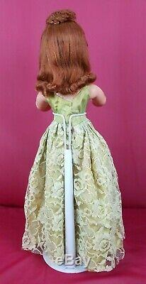 Vintage 1950's Madame Alexander CISSY 20 Doll Red Hair ORG Box 2 Outfits Nice