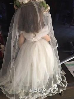 Vintage 1950's Madame Alexander Wreath Elise Bride Doll