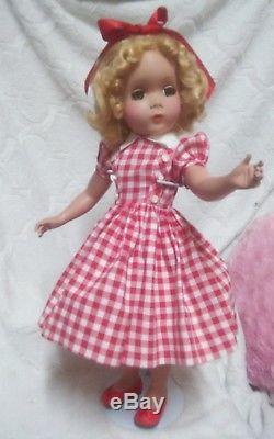 Vintage 1950s 18 Inch Original Madame Alexander Maggie Doll