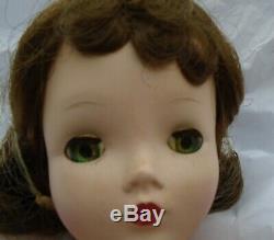 Vintage 1950s Madame Alexander 20 Cissy Doll Blue/Green Eyed Brunette