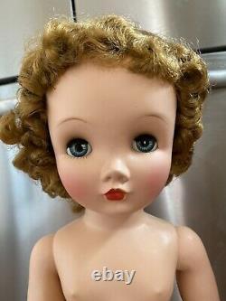 Vintage 1953-1955 WINNIE WALKER 24 Doll Madame Alexander TAGGED DRESS STUNNING