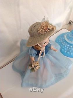 Vintage 1954 Madame Alexander Rare and Hard To Find Blue Danube, #351. SLW