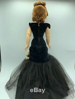 Vintage 1956 CISSY Doll BLACK TORSO MERMAID. Exceptional Red Head