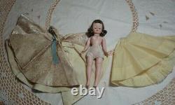 Vintage 1957 Madame Alexander Cissette Doll Queen Elizabeth 9.5 Tagged Dress