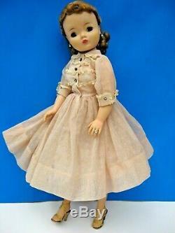 Vintage 1958 Madame Alexander CISSY Doll in Orig. Tagged DRESS Set #2230 Exc