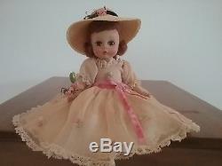Vintage 1958 Madame Alexander Wendy Wears a Bridesmaid Dress, #583, 8 inch