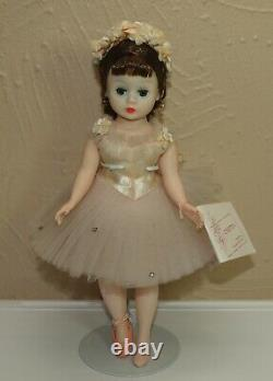 Vintage 1963 Madame Alexander 10 Cissette # 735 PINK BALLERINA Brunette