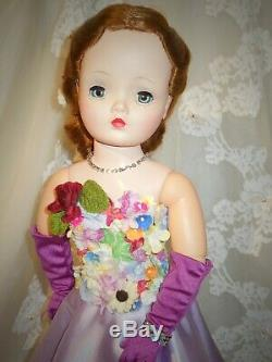 Vintage 50's high fashion Madame Alexander 20 Cissy doll in OOAK ensemble