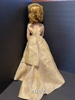 Vintage Alexander Cissy Doll Queen Elizabeth Coronation 1957 Tagged Side Part