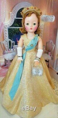 Vintage Cissy Doll Queen Elizabeth Coronation Rare Side Part 1957
