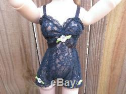 Vintage Cissy Doll by Madame Alexander 21 Stockings Heels Teddy Ring & Hairnet