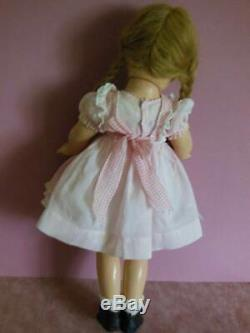 Vintage Composition Madame Alexander Mcguffey Ana Doll Original Clothing 20