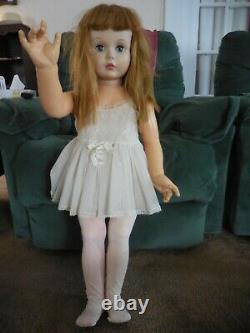 Vintage Doll Madame Alexander 36 1959 Playpal Type JANIE Strawberry Blonde Hair