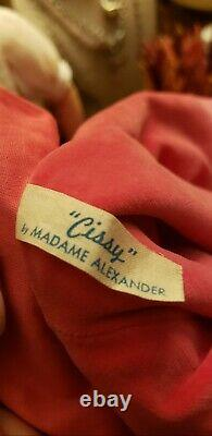 Vintage Estate Cissy Doll in Hot Pink tagged Coat
