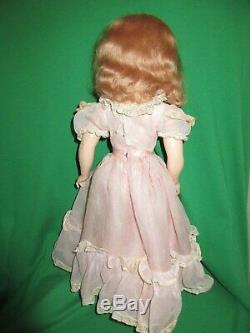 Vintage Hard Plastic Madame Alexander Princess Margaret Rose 17 Doll All Orig