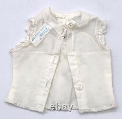 Vintage Madam Alexander Cissy Iconic White Cotton Blouse Original Tagged