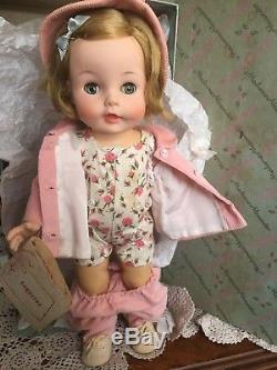 Vintage Madame Alexander 14 Caroline Kennedy Doll 1961, Original box, hangtag