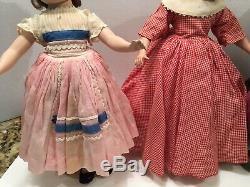 Vintage Madame Alexander 14 Little Women set 4 dolls all original 1948/50