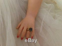 Vintage Madame Alexander 15 Elise Bride Doll 1755 Jointed Excellent Complete
