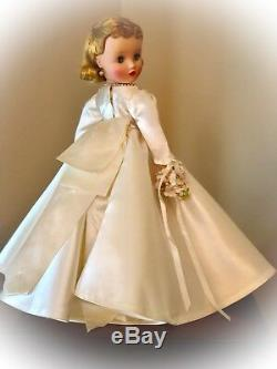 Vintage Madame Alexander 16.5 1960 Bride Doll Elise #1735