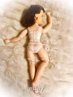 Vintage Madame Alexander 17 #1839 Pink Bride Doll Elise