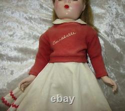 Vintage Madame Alexander 17 Annabelle With Original Clothes