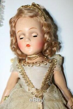 Vintage Madame Alexander 18 Fairy Queen Composition Doll, original outfit
