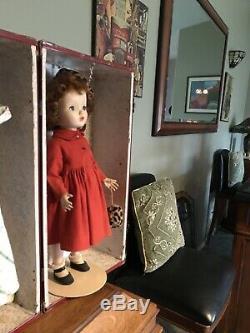 Vintage Madame Alexander 18 Winnie Binnie Walker Tagged original clothes