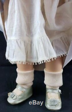 Vintage Madame Alexander 19 Princess Elizabeth Tagged Gown Composition