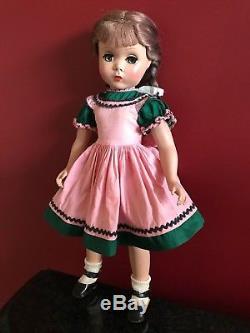 Vintage Madame Alexander 1950s 17 KATHY Doll withMaggie Face