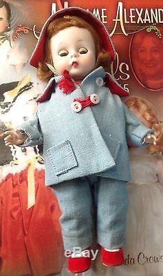 Vintage Madame Alexander 1957 #371, Car Coat, 8 BKW Hard Plastic HTF
