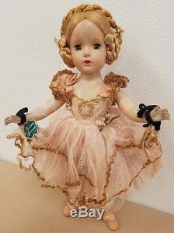 Vintage Madame Alexander Ballerina 14.5 Doll