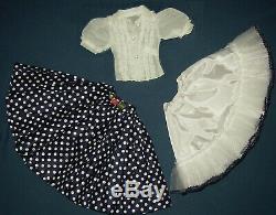 Vintage Madame Alexander Blouse & Skirt For Cissy 20 Tall Doll & Homemade Slip