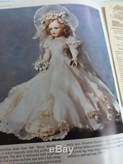 Vintage Madame Alexander Bride Doll Compo 22 Extremely Rare-gorgeous