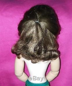 Vintage Madame Alexander Brunette Cissy Doll To Dress