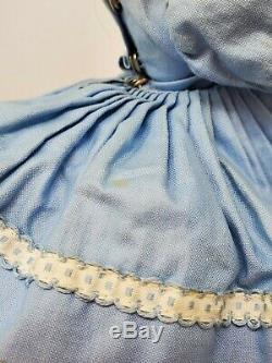 Vintage Madame Alexander CISSETTE #810 Blue Garden Tea Ensemble Beautiful c1960